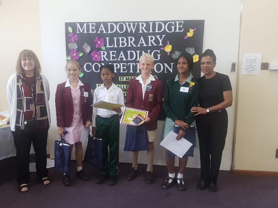 MEADOWRIDGE LIBRARY READING COMPETITION 2019