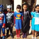 Cartoon character - superhero dress-up day (1)