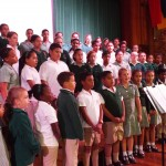 Choir sang in Assembly (2)