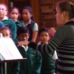 Choir sang in Assembly (3)