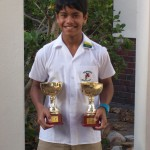 Daleel Hendricks excelled in karate