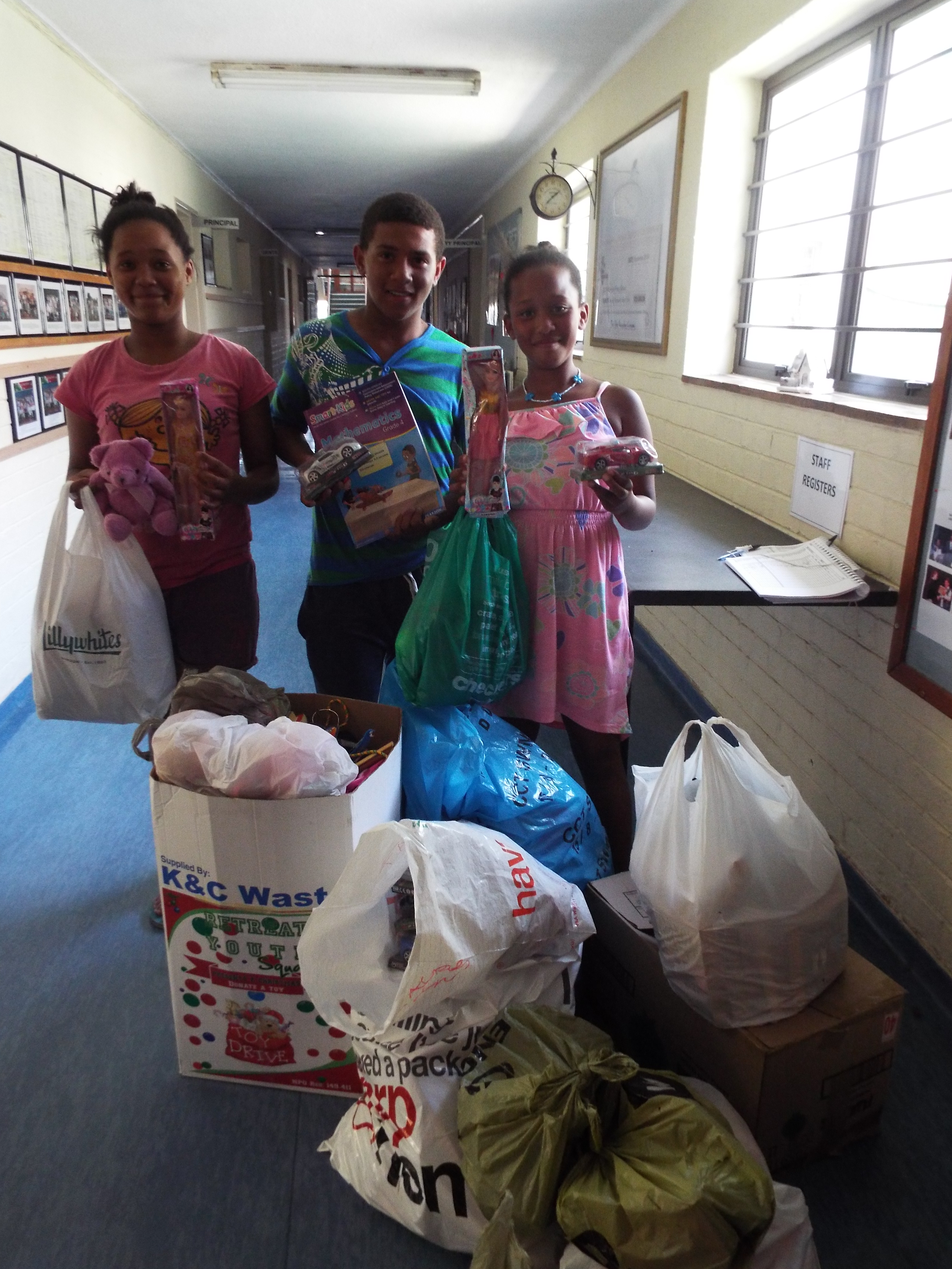 Donations to Retreat Youth Centre (2)