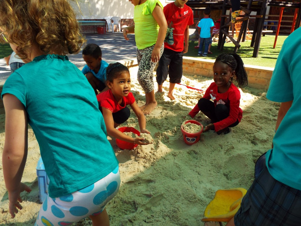 Fresh sand in the Grade R playground (3)