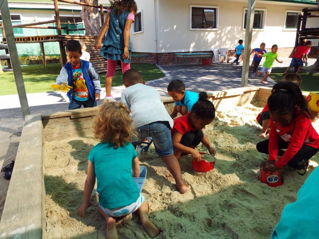 Fresh sand in the Grade R playground (4)