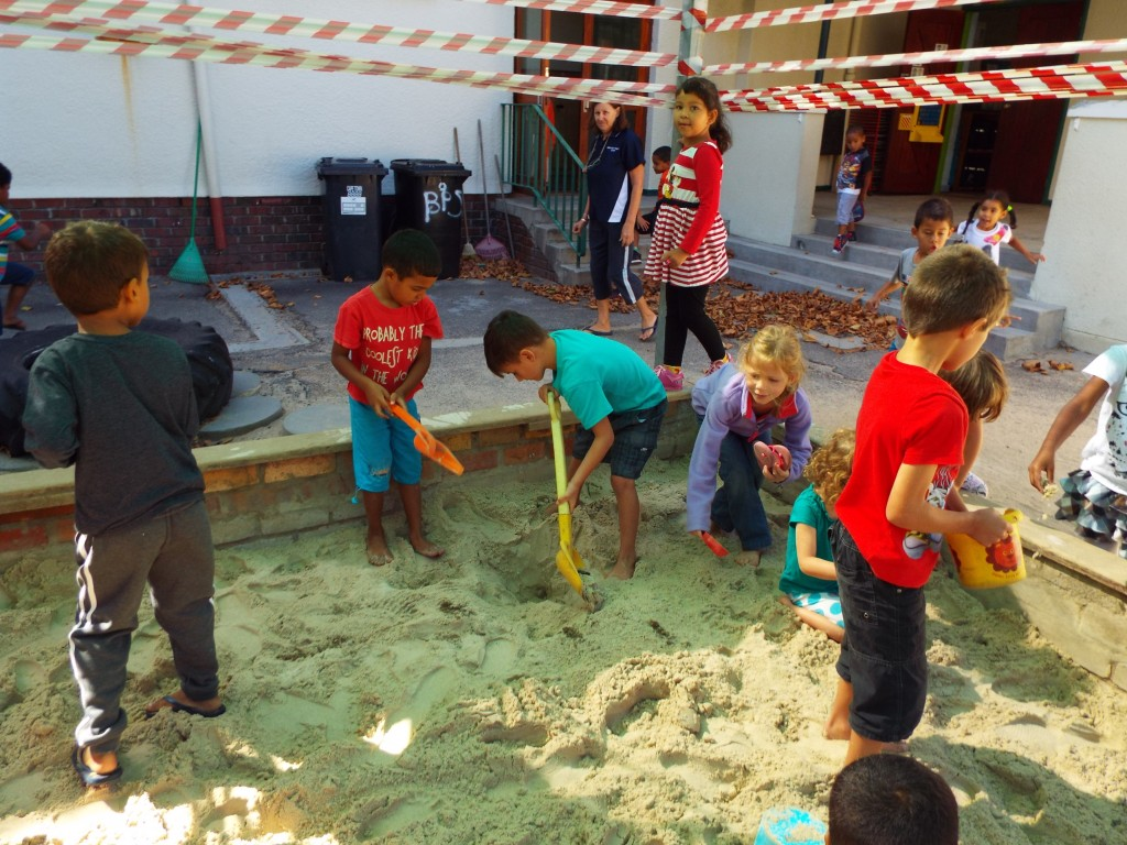 Fresh sand in the Grade R playground (5)