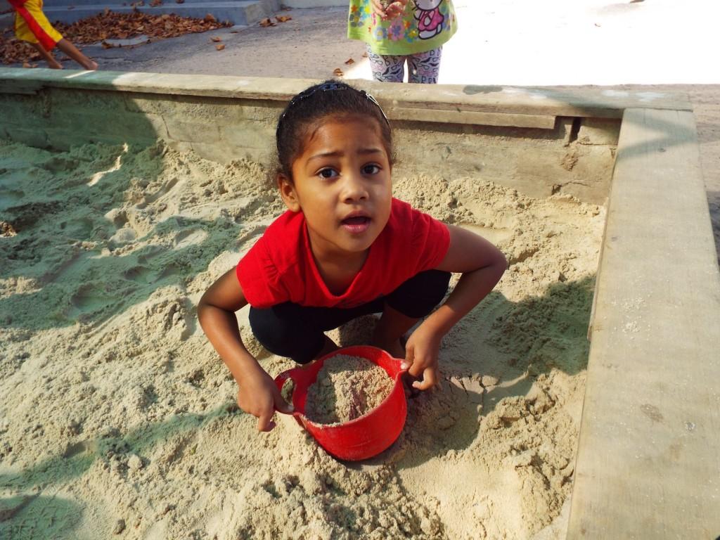 Fresh sand in the Grade R playground (7)