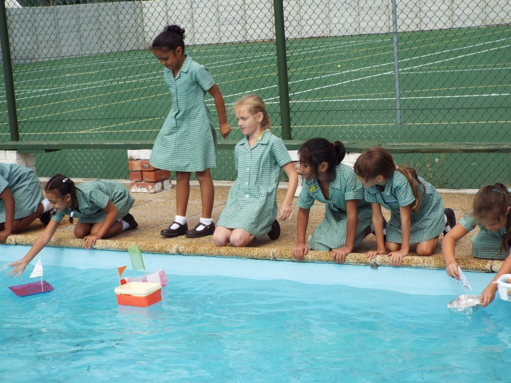 Gr 2 classes floated their boats (1)