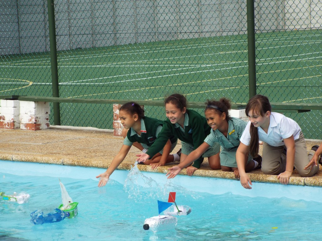 Gr 2 classes floated their boats (21)