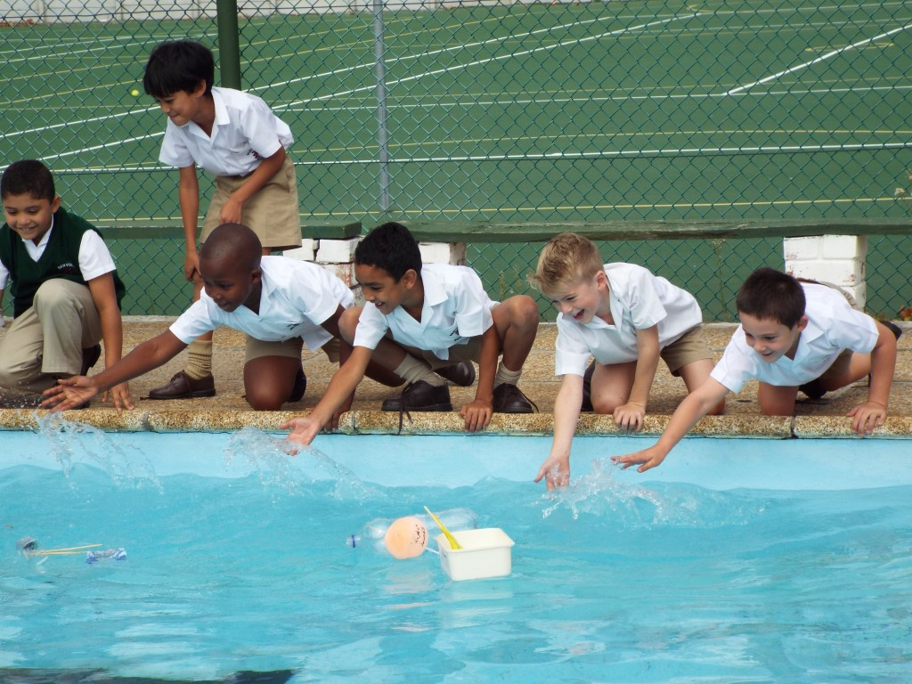 Gr 2 classes floated their boats (23)