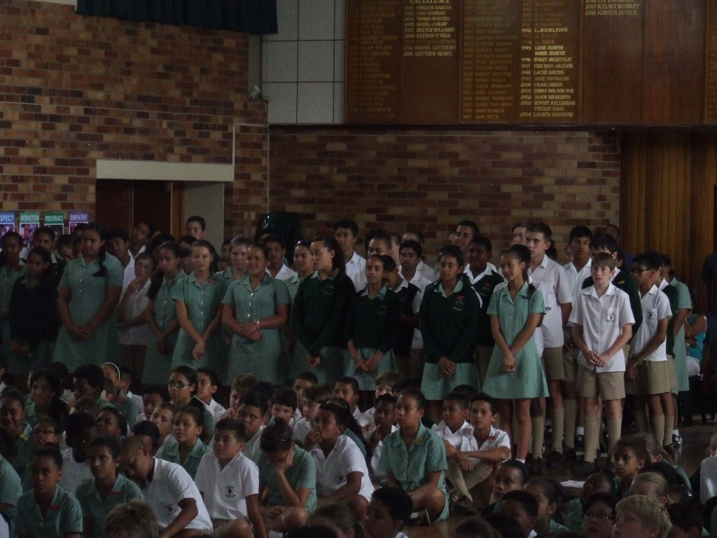 Mrs de Beer's Farewell Assembly (21)