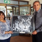 Painting donated by Christelle Basson