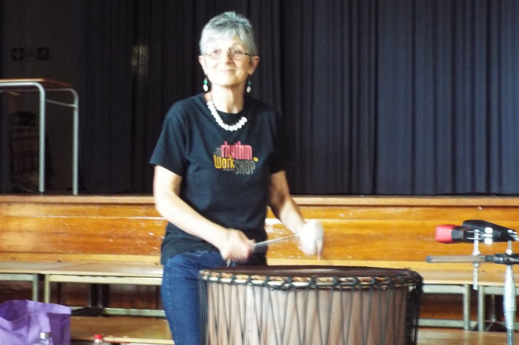 Staff enjoyed a Drumming Session (5)