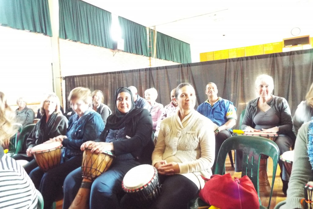 Staff enjoyed a Drumming Session (7)