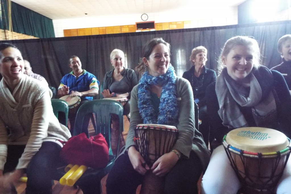Staff enjoyed a Drumming Session (8)