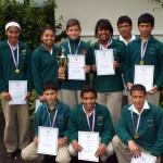 U13 Soccer tournament winners