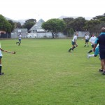 U13 girls hockey team vs Zimbabwean team (1)