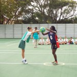 Visiting netball team from Zimbabwe (10)