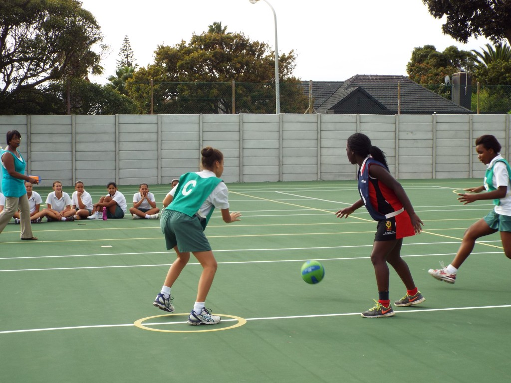 Visiting netball team from Zimbabwe (11)