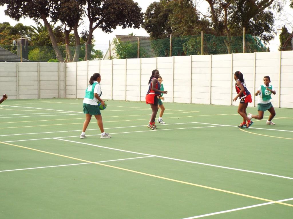 Visiting netball team from Zimbabwe (12)