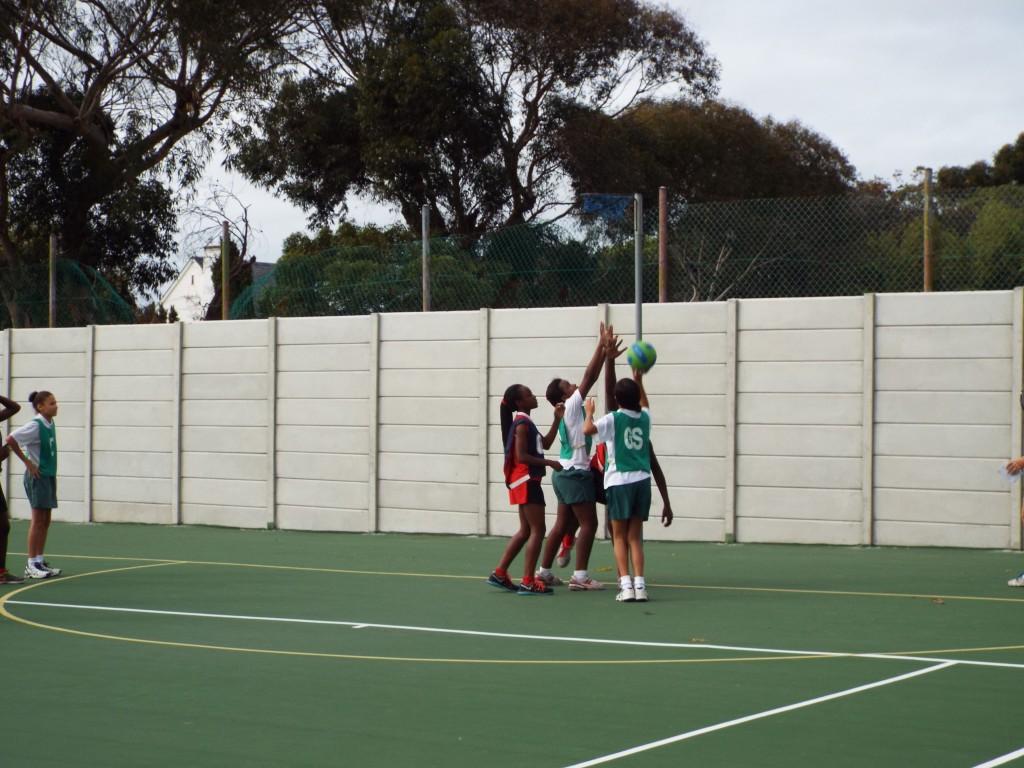 Visiting netball team from Zimbabwe (14)