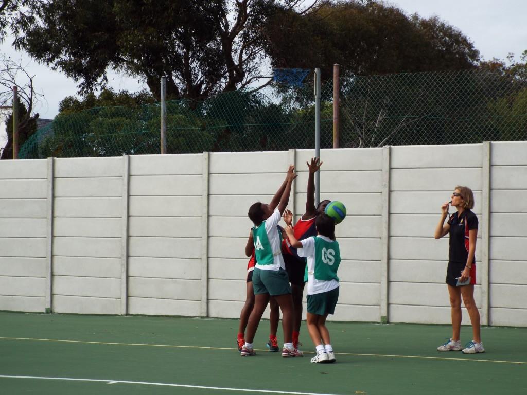 Visiting netball team from Zimbabwe (15)