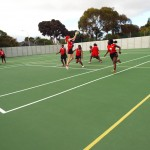 Visiting netball team from Zimbabwe (2)