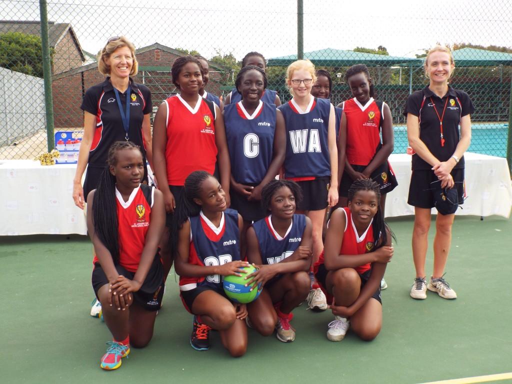 Visiting netball team from Zimbabwe (3)