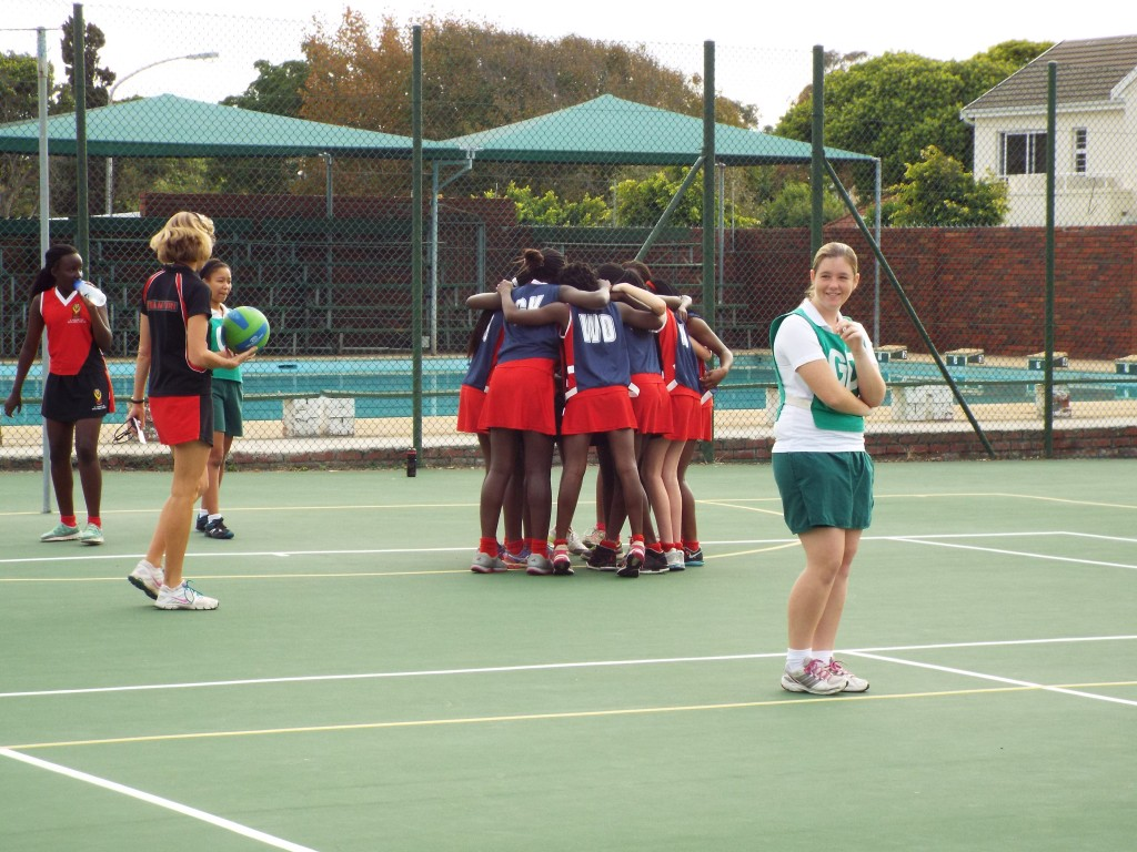 Visiting netball team from Zimbabwe (6)