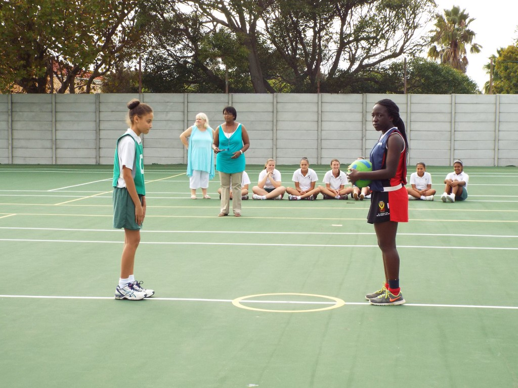 Visiting netball team from Zimbabwe (8)